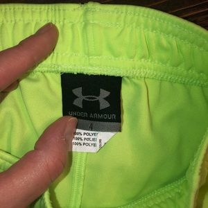 Under Armour Bottoms - Neon UA shorts